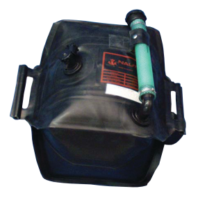 Portable Outboard Tanks with Fittings