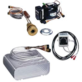 Compact Self-Pumping Water Cooled Refrigeration Unit