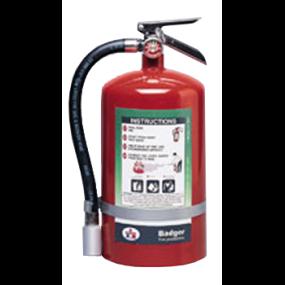 Badger Halotron-1™ 11 lb Extinguisher - Class 1-A:10-B:C