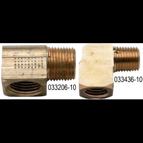 Machined Brass Fuel Elbows