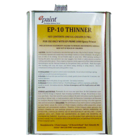 EP 10 & 13 Thinners