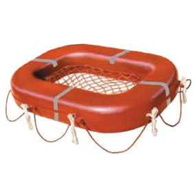 Rectangular Buoyant Apparatus with Net Platform - 22 Man Model