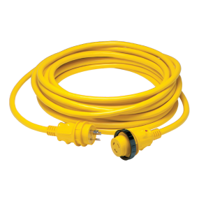 30 Amp 125V Power Cord Plus Cordsets - Yellow