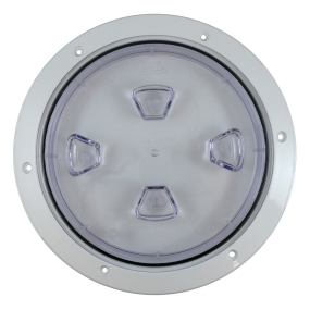 Screw-Out Deck Plate - Clear Plate
