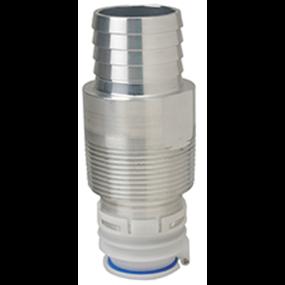 Fuel Inlet Check Valve - NPTF Threaded, Straight, EPA Compliant