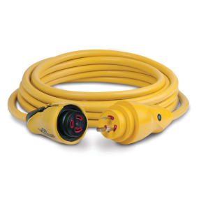 30 Amp 125V EEL ShorePower Cordsets - Yellow