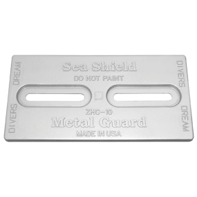 Diver's Dream Slotted Plate Anodes - Aluminum