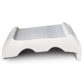 Sphaera Rub Rail Standard Base w/ Lip Only - White