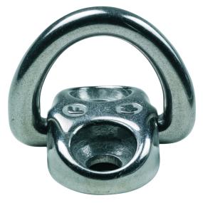 6 mm Low Profile Folding Pad Eye - 2-Hole