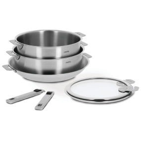 7-Pc Strate Stainless Steel Cookware Set