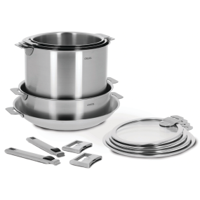 13-Pc Stainless Steel Cookware Set