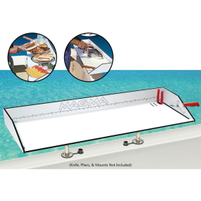 """First Mate™ """"Dual-Mount"""" Fish Cutting and Serving Table"""