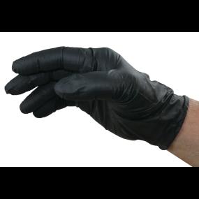 GlovePlus Powder-Free Black Nitrile Gloves - 6 Mil