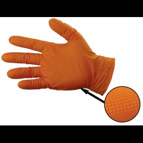 Gloveworks HD Orange Powder-Free Nitrile Gloves - 8 Mil