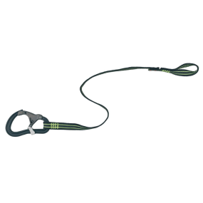 ProLine Tether - 1 Attachment Loop, 1 Safety Snap Hook, Flat Webbing, 0.80m