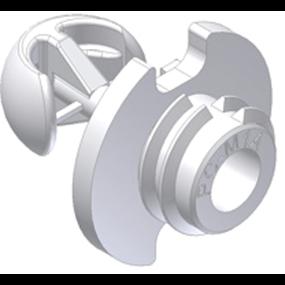 PC-M1B Fastmount Standard Clip - Heavy-Duty Self-Tapping Male