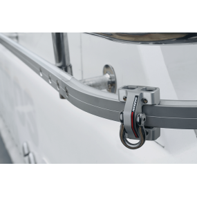 TR31 Tight Radius Rail and Trolley Safety System