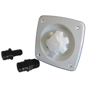 Flush Mount Water Pressure Regulator - 45 PSI