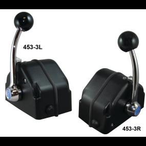MicroCommander 453 Series Knob Lever Single Engine Controls - Standard