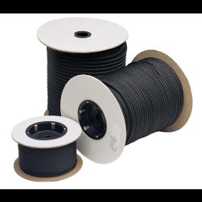 Mini Braid Accessory Cords - Black