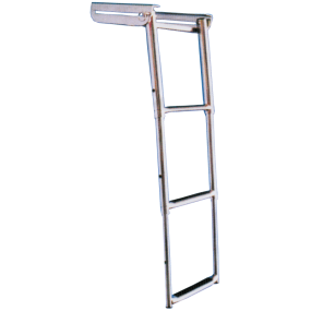 Under Platform Telescoping Slide Mount Ladder