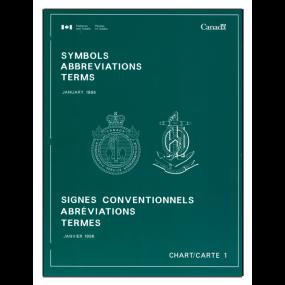 Canadian Navigation Book: Symbols Abbreviations Terms