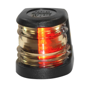 Aqua Signal Series 20 Black Navigation Light - Deck Mount, Port