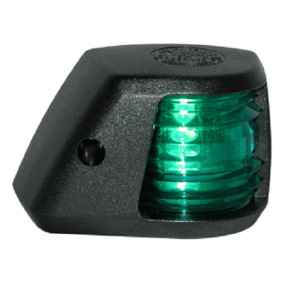 Aqua Signal Series 20 Black Navigation Light - Side Mount, Starboard