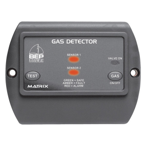 600-gdl of BEP Marine Matrix Gasoline/Propane Detector Kit - with Solenoid On/Off Circuit