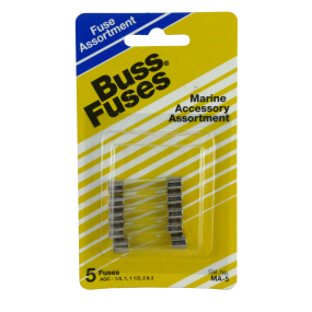 ma5 of Buss Fuses Buss AGC 5-Fuse Assortment Kits