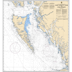 3002 of Canadian Charts Queen Charlotte Sound to Dixon Entrance