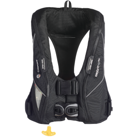 Front View of Crewsaver ErgoFit 40 Pro USCG Automatic Inflatable PFD - with Harness