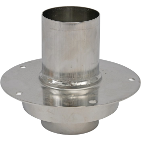 Deck Flange - Straight - Stainless Steel