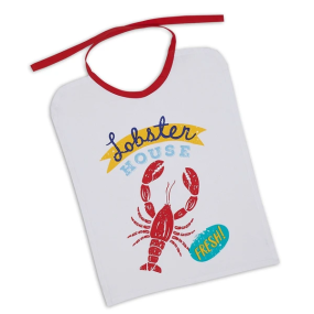 91016 of Design Imports India Lobster House Bib
