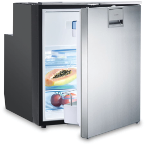 CoolMatic CRX 65S AC DC Stainless Refrigerator Freezer