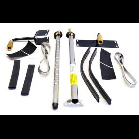view of kit of EZ Steer Auxiliary Motor Steering Kits