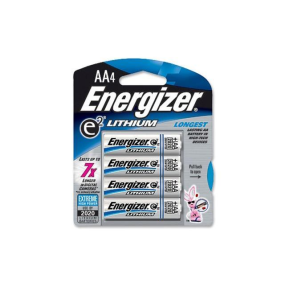 l91bp4 of Energizer 4 Pack AA Lithium Batteries