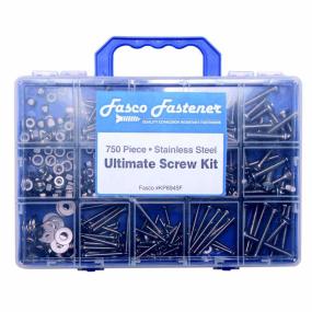 750 Piece Ultimate Screw Kit