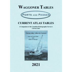Waggoner / Ports and Passes Current Atlas Tables - 2021