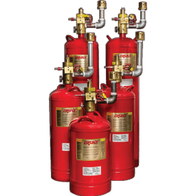 GA Automatic Fire Extinguisher System - HFC-227ea