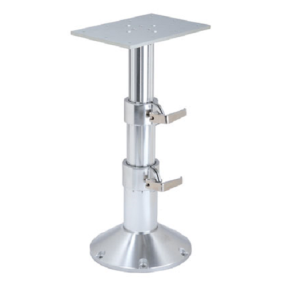 2-Stage Gas Rise Table Pedestal, Commander Series 4.0