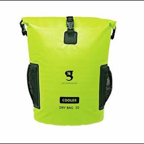49826gn of Geckobrands Backpack Dry Bag Cooler - Neon Green