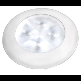 "Slim Line LED Round 3"" Lamps - White Light, White Trim"