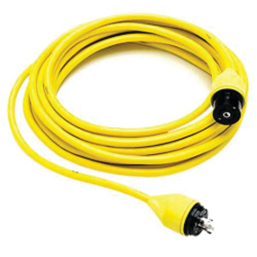 Hubbell Telephone Cable Set - 50 ft, Yellow