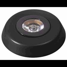 """Innovative Lighting 3"""" LED Silverlight Surface Mount 3W Ceiling Light - Black"""