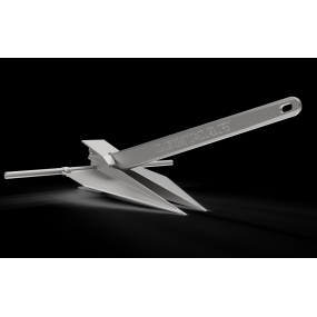 Lewmar LFX Fluke Style Aluminum Anchor