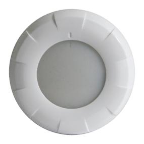 """Lumitec 4"""" Aurora LED Dome Light - White Bezel"""