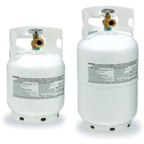 Steel Propane Cylinders - Vertical