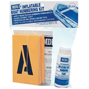 Inflatable Boat Numbering Kit