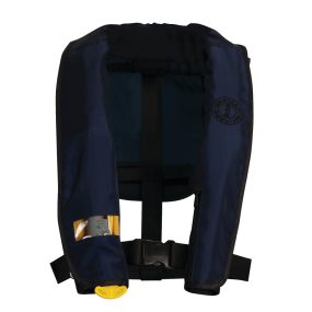 Main View of Mustang Survival Deluxe Manual Inflatable PFD - Law Enforcement Version